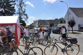 Bicikli na staciji u Malom Borištofu