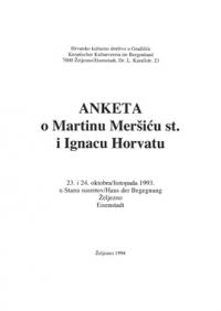 Anketa Meršić st., I. Horvat