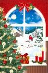 Božićno drivo pred oblokom