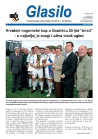 Cover Glasilo 2008/03