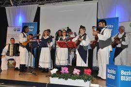 """Tamburica Vlahija na pozornici od """"Genuss Burgenland"""""""