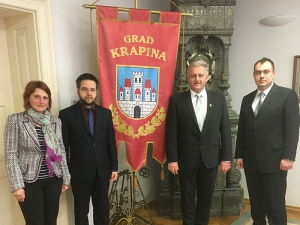 Nedeljka Vodolšak, Matthias Wagner, Stanko Horvath i Zoran Gregurović